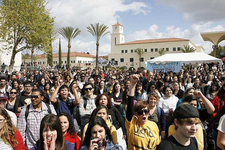 Students%2C+faculty+members%2C+teachers%2C+parents+and+other+supporters+took+to+California+campuses+and+streets+March+2010+to+protest+fee+increases+and+funding+cuts.
