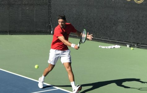 Men's tennis swept by No. 15 Oklahoma State in spring opener