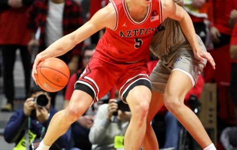 Aztecs stay undefeated at 19-0 behind Wetzell's double-double