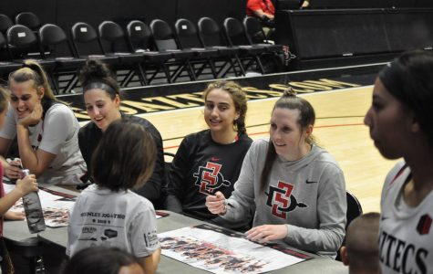 San Diego State women's athletes celebrate 'National Girls and Women in Sports Day'
