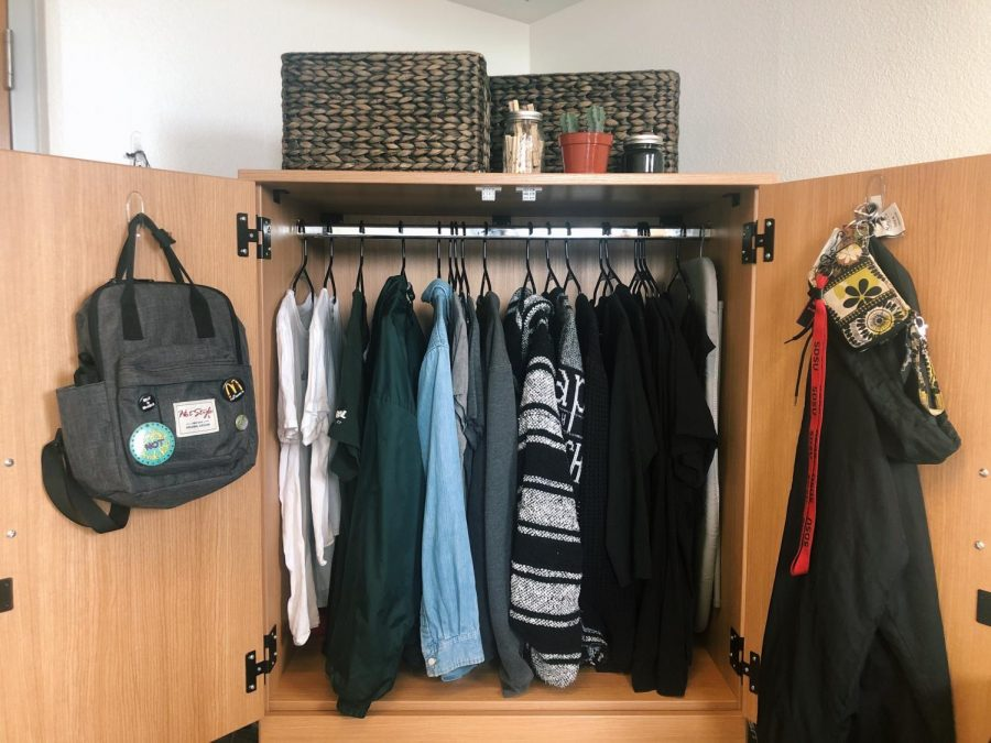 Closets can be packed full with unused items, but decluttering can help focus your wardrobe.
