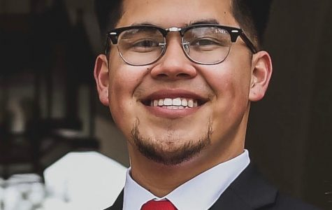 A.S. vice president of financial affairs candidate Victor Penera