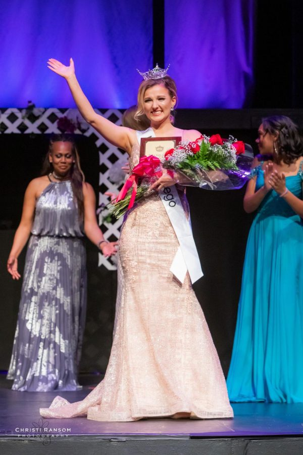 Marketing and business freshman Mary Kohaut won Miss San Diego and gained a lot from the experience.