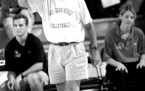 Volleyball coach reflects on passing of only coach in SDSU history to win a national title