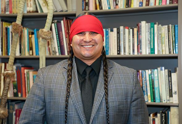 Jacob Alvarado Waipuk was recently named the university's first ever Tribal Liaison.
