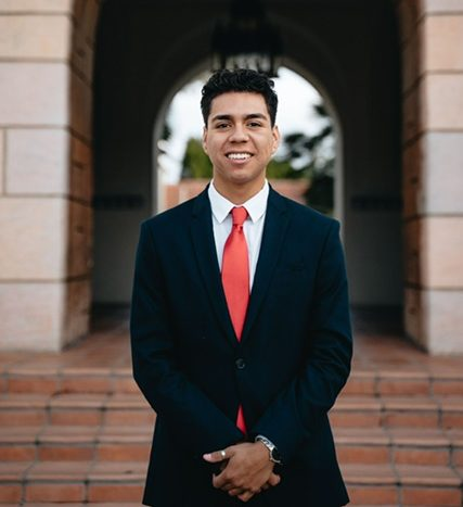 A.S. executive vice president candidate Ubaldo Martinez
