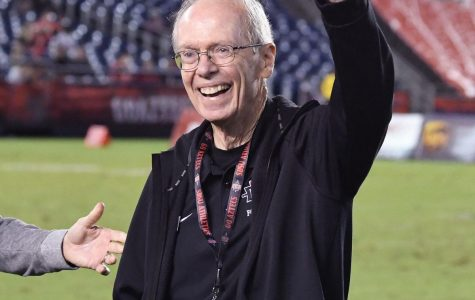 Ernie Anderson was inducted into the Aztecs Hall of Fame in 2018.