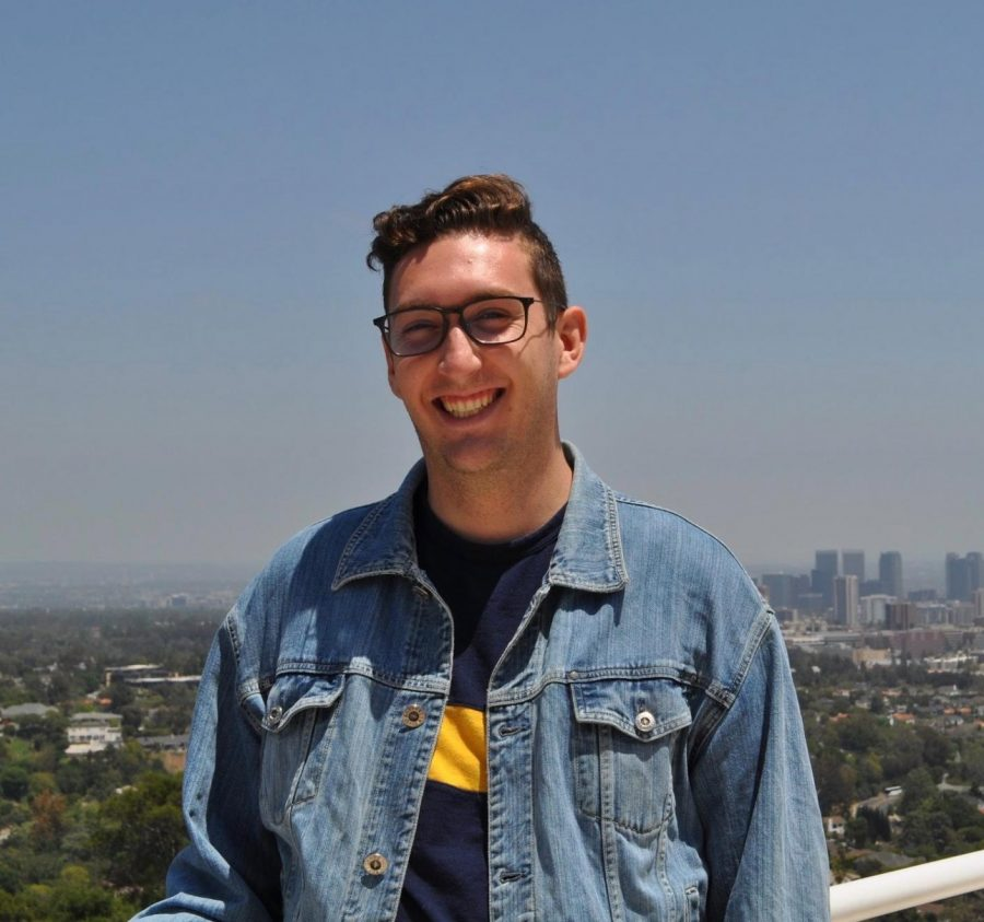 Brenden Tuccinardi will serve as The Daily Aztec's editor in chief for the 2020-2021 school year.