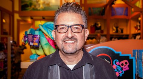 SDSU alumnus Lalo Alcaraz was named a finalist for a Pulitzer Prize for his editorial cartoons.