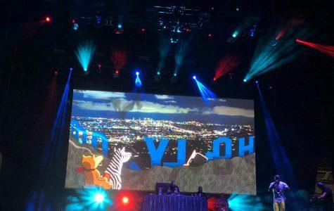 Freddie Gibbs performs at the Adult Swim festival on November 16, 2019