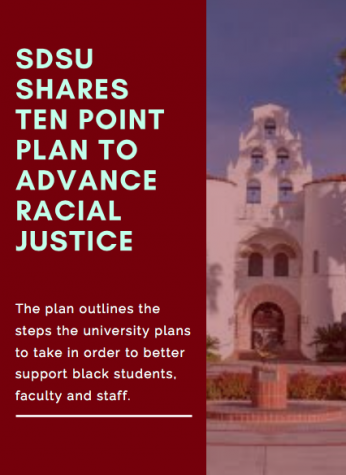 SDSU shares Ten Point Plan to advance racial justice