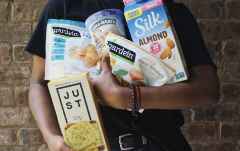 Plant-based alternatives that are available at most mainstream grocery stores.