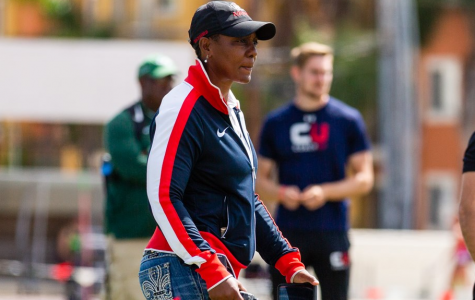 San Diego State cross country and track and field head coach and former Olympian Shelia Burrell is entering her 12th year on the Mesa.