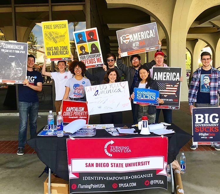 Turning Point USA at SDSU, a student political organization on campus, agrees that polarization has been prominent in politics, especially following the 2020 election.