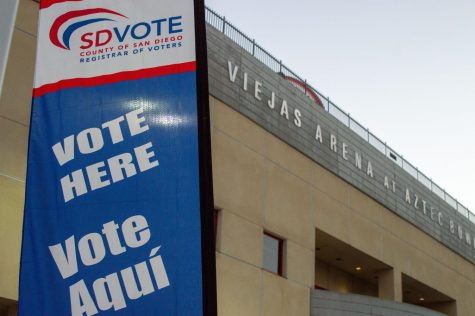 Viejas Arena was one of many super poll sites operated by the county.
