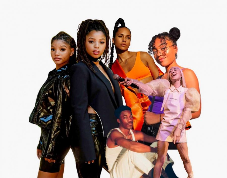 Music artists Chloe x Halle, Alicia Keys, Giveon, Rina Sawayama and UMI highlight part one of The Daily Aztec's Albums of The Year.