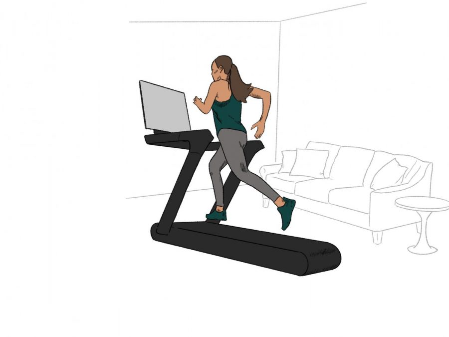 Exercising at home has become the new normal amid pandemic