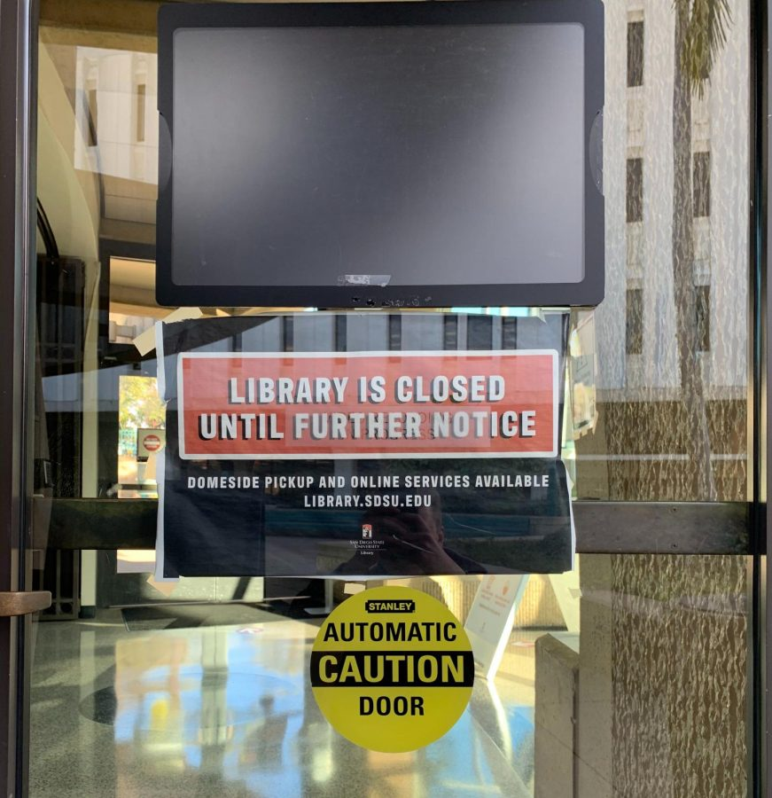Love Library should reopen with limited capacity