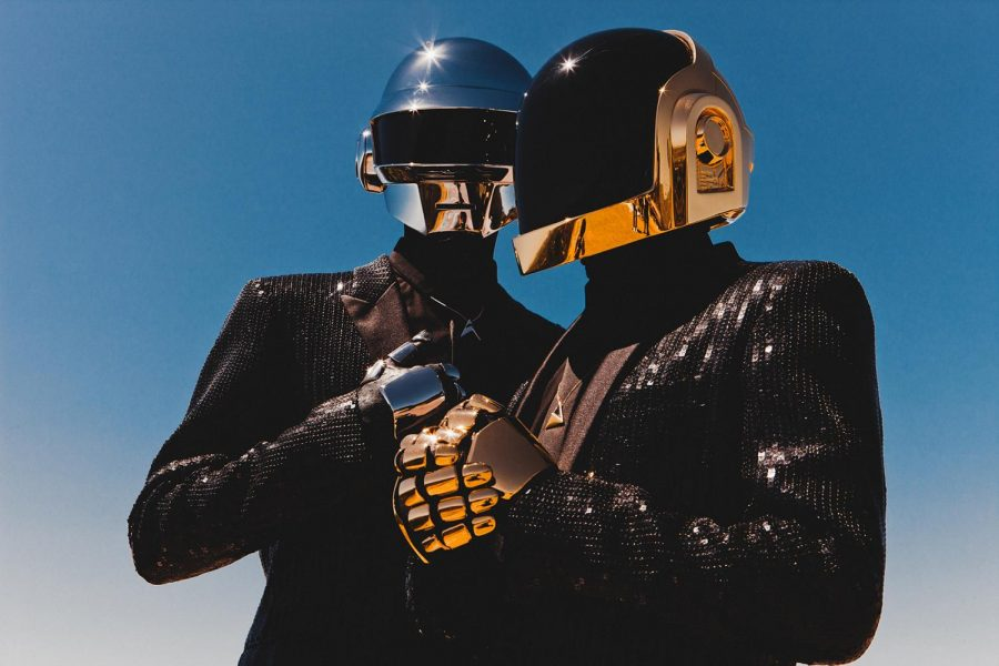 French electronic music duo Daft Punk revolutionized dance music by incorporating futuristic audio and visual sounds in their work.