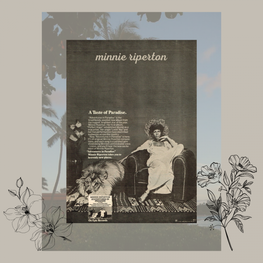 Minnie Riperton gave us flowers, it's time we give her flowers too