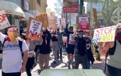 San Diegans took to the streets of Downtown on March 20 following shootings in Atlanta. They marched in support of the Asian American community and against anti-Asian racism.