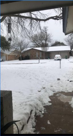 La casa de la Familia Barroso fue afectada por la tormenta invernal en Tejas