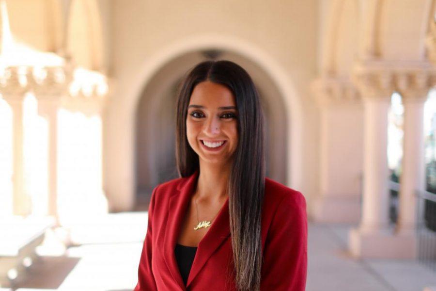 A.S. presidential candidate Ashley Tejada