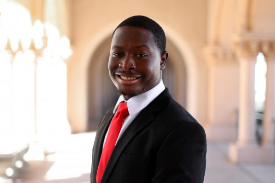 A.S. vice president of external relations candidate Shawki Moore