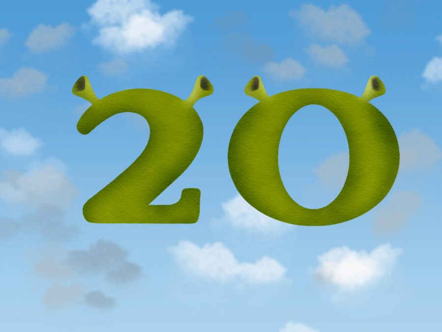 The+20th+anniversary+of+the+original+%22Shrek%22+movie+is+on+May+18.+