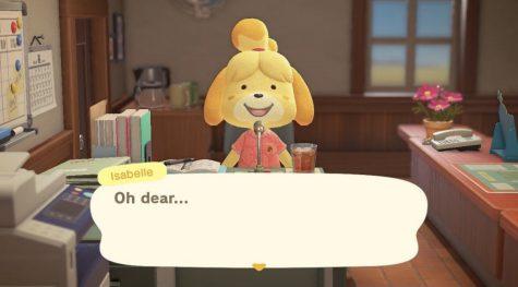 Screenshot of Animal Crossing game.