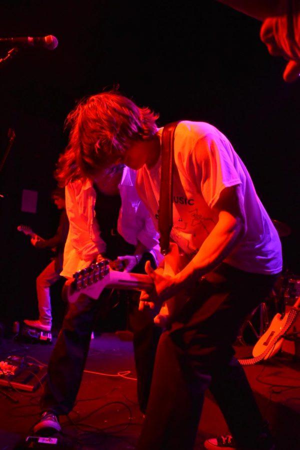 Saint Luna guitarist Wick Hauser.