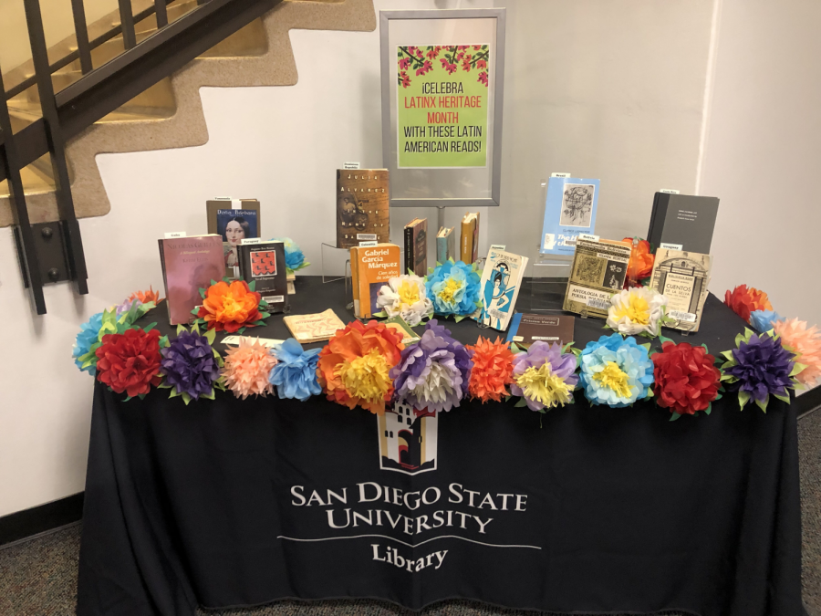 The SDSU Latinx Resource Center is located on the first floor of the Love Library.
