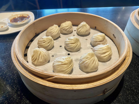 Taro xiao long bao is one of the Din Tai Fungs well-known desserts.