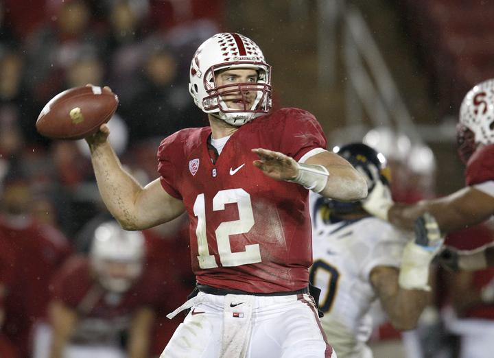 Stanford QB Andrew Luck will be selected first overall by the Indianapolis Colts in tonight's draft. | MCT Campus