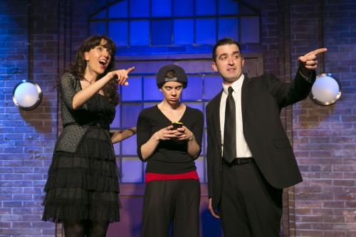 Marla Caceres, Andel Sudik and Kevin Sciretta. Courtesy of Todd Rosenberg.