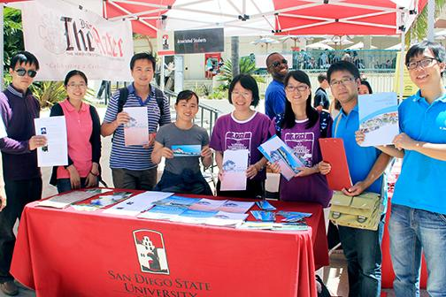 Chinese universities study SDSU's Student Affairs Program
