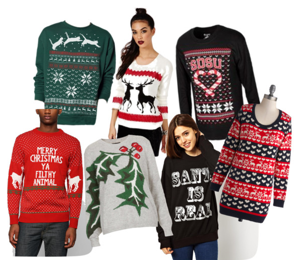 Ugly christmas sweaters are ugly no more