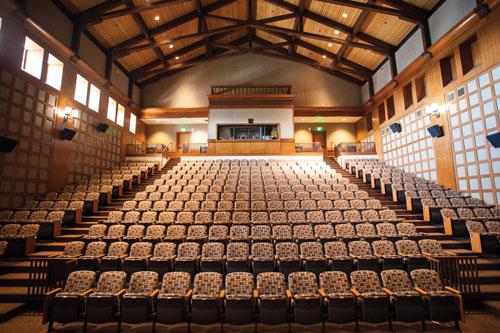 Conrad Prebys Aztec Student Union's Union Theatre